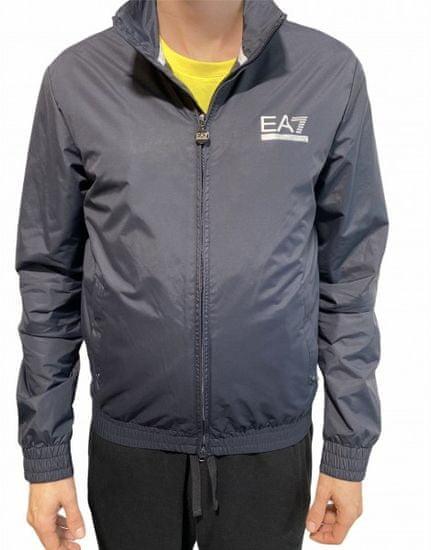 Emporio Armani Pánská sportovní šusťáková bunda Emporio Armani, Navy - M