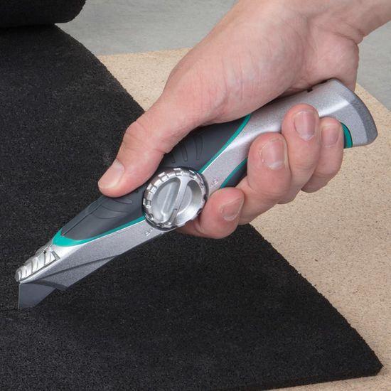 shumee wolfcraft Profesjonalny nóż introligatorski z pokrowcem