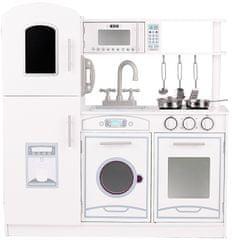 Aga4Kids Dřevěná kuchyňka AGATHA White