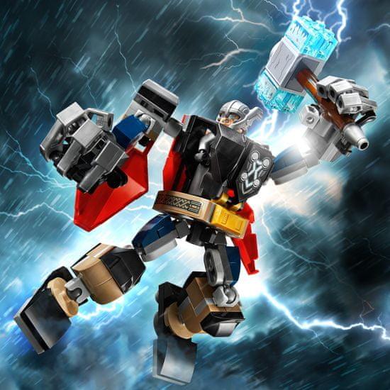 LEGO Super Heroes 76169 Thor v oklepnem robotu