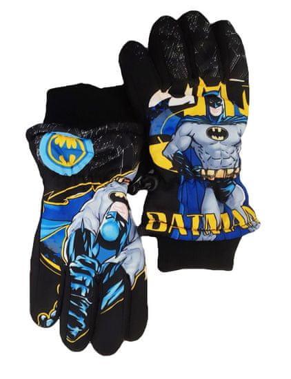 "SETINO Fantovske smučarske rokavice ""Batman"" - črna"