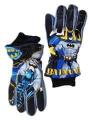 """SETINO Fantovske smučarske rokavice """"Batman"""" - siva - 9–10 let"""