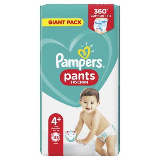 Pampers pieluszki Pants Maxi+ rozm. 4+ (99 szt) - pieluchomajtki (9-15 kg) – Giant Pack