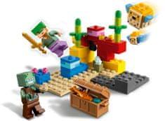 LEGO Minecraft 21164, Rafa koralowa