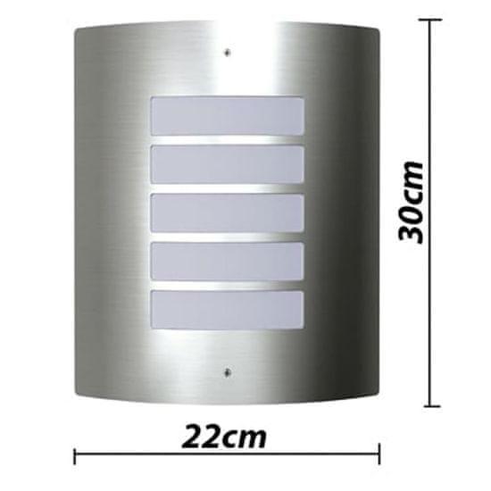 shumee Lampy ścienne, zewnętrzne, wodoodporne, 2 w komplecie