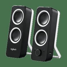 Logitech Z200 stereo zvočniki 2.0, črni
