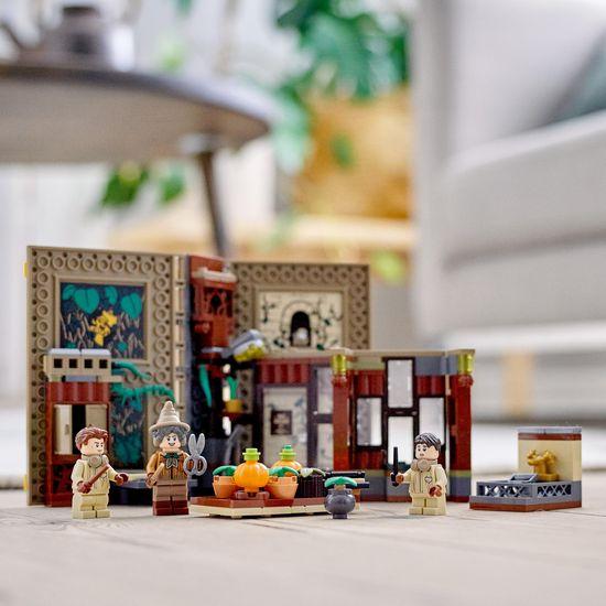 LEGO Harry Potter 76384 Kouzelné momenty z Bradavic: Hodina bylinkářství