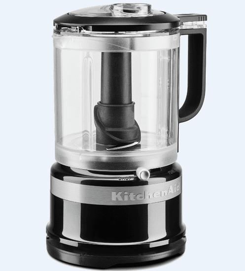 KitchenAid 5KFC0516 sekljalnik, črn