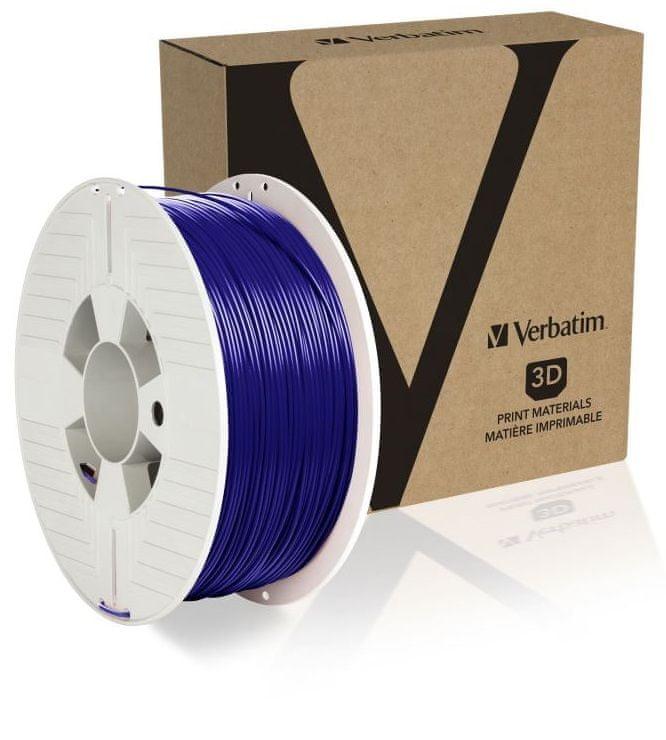 Verbatim tisková struna, ABS, 1,75mm, 1kg, modrá (55029)