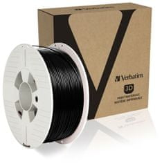 Verbatim tisková struna, PLA, 1,75mm, 1kg, černá (55318)