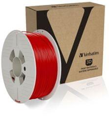 Verbatim tisková struna, PLA, 1,75mm, 1kg, červená (55320)