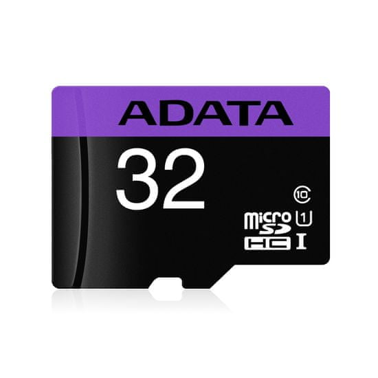 A-Data Premier microSDHC spominska kartica, 32 GB + SD adapter