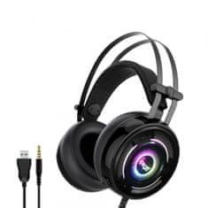 Ipega naglavne Gaming slušalke PG-R008 z mikrofonom, 3,5 mm