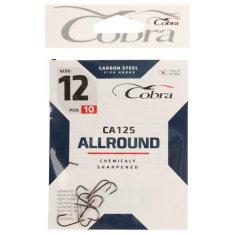 Cobra Hooks allround series ca125 č. 12, 10 ks.