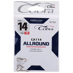 Cobra Hooks allround series ca114 č. 14, 10 ks.
