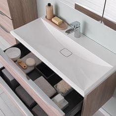KOLPA-SAN skříňka do koupelny s umyvadlem TARA , bílá/mat, 70 cm
