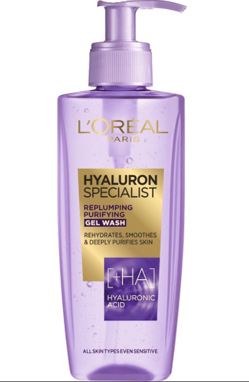 Loreal Paris Hyaluron Specialist gel za čišćenje, 200 ml