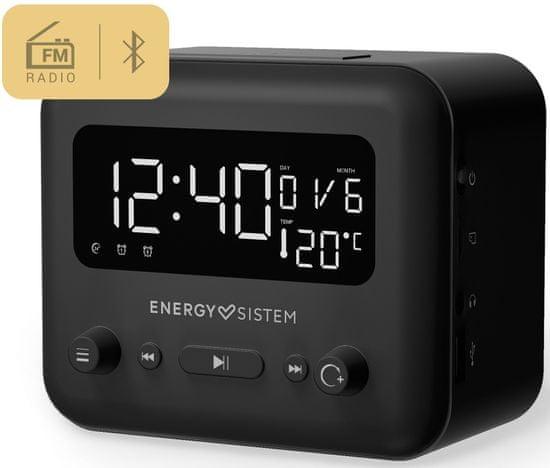 Energy Sistem Clock Speaker 2 Bluetooth Graphite