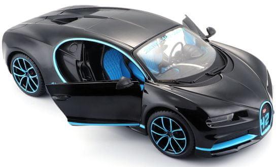 Maisto model Bugatti Chiron 1:24 - czarny