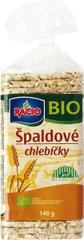 RACIO Chlebíčky BIO špaldové 140g (bal. 12ks)