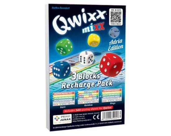 Pravi Junak igra s kockami Qwixx Mixx Recharge Pack, razširitev