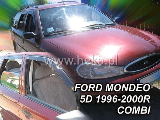 HEKO Deflektory na Ford Mondeo combi, 5-dverová (+zadné), r.v.: 1996 - 2000