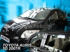 HEKO Deflektory na Toyota Auris, 5-dverová, r.v.: 2007 -