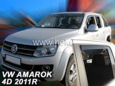 HEKO Deflektory na Volkswagen Amarok, 4-dverová (+zadné), r.v.: 2011 -