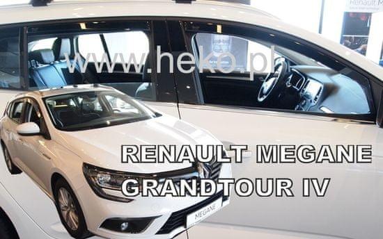 HEKO Deflektory na Renault Megane IV Grandtour, 5-dverová (+zadné), r.v.: 2016 -