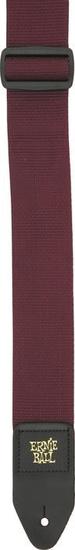 Ernie Ball 4047 Burgundy Polypro Strap - vínový řemen