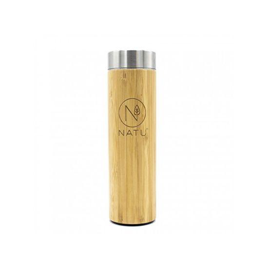Natu Bambusová termoláhev se sítkem 500 ml