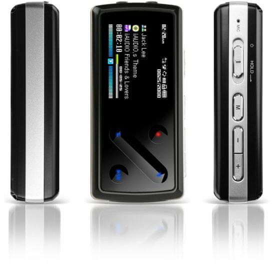 Cowon 7 / 4GB (Black/Red)