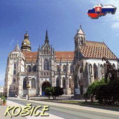 tvorme 3D magnetka Košice 3DMKE001 - katedrála sv. Alžbety, 7.5 cm