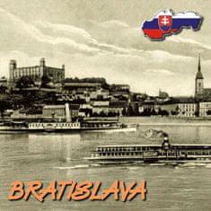 tvorme 3D magnetka Bratislava 3DMBA002 - história/súčasnosť