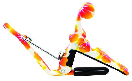 Kyser KUPHA QUICK-CHANGE PRO MANDOLINS, BANJOS & UKULELES Pastel Hibiscus
