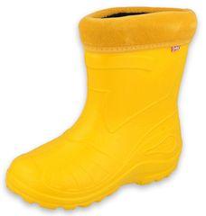 Befado izolirane čizme za dječake 162Y107, 31, žute