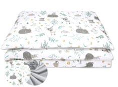COSING 2-delni komplet posteljnine, gozdni prijatelj