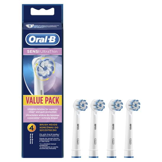Oral-B Sensitive 4 ks náhradní hlavice