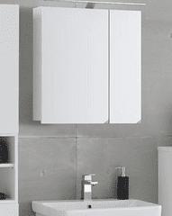 KOLPA-SAN zrcadlová závěsná skříňka OXANA, bílá mat, šířka 60 cm