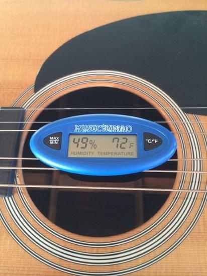 MusicNomad MN306 Humidity Care System - Digitální HumiReader + Humitar do kufru, zvlhčovač