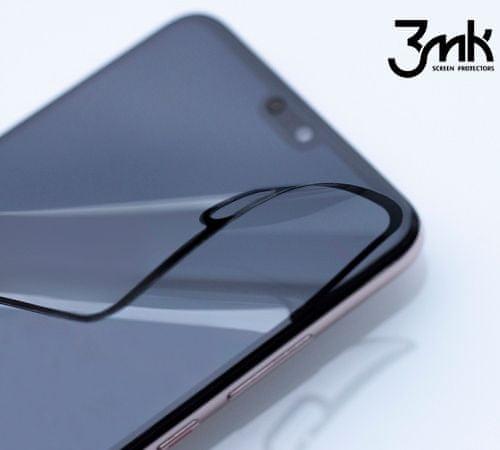 3MK Hybridní sklo FlexibleGlass Max pro Xiaomi Redmi Note 8T, černá