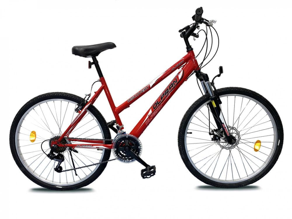 Olpran 26 Discovery Lady sus disc red/black - použité