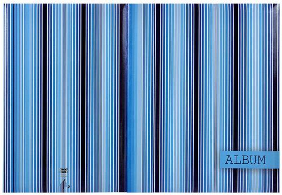 Tradag Album Zebra modrý