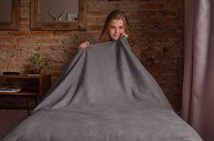 Povlečeme vše Deka mikro tmavo šedá rozmer 150x200 cm