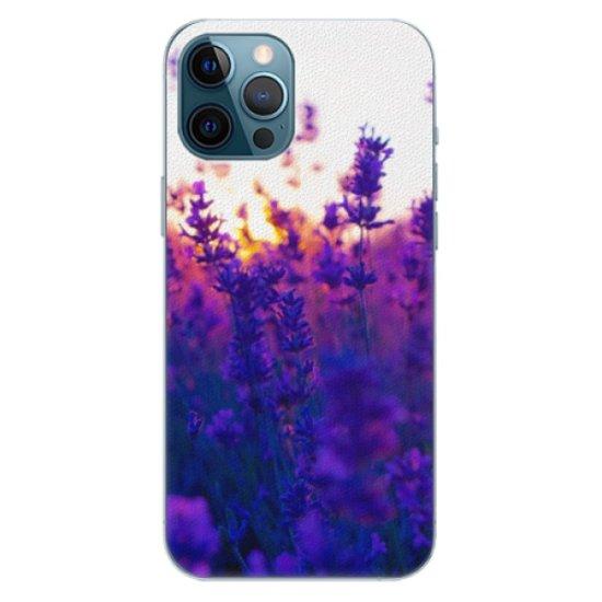 iSaprio Plastikowa obudowa - Lavender Field na iPhone 12 Pro Max