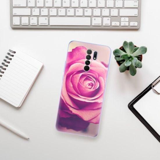 iSaprio Silikonowe etui - Pink Rose na Xiaomi Redmi 9
