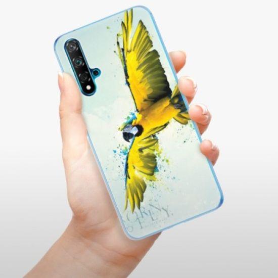 iSaprio Silikonowe etui - Born to Fly na Huawei Nova 5T