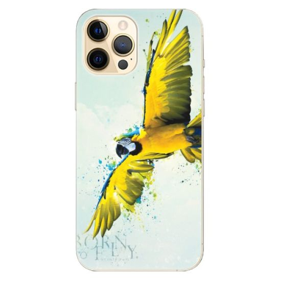 iSaprio Silikonowe etui - Born to Fly na Apple iPhone 12 Pro Max