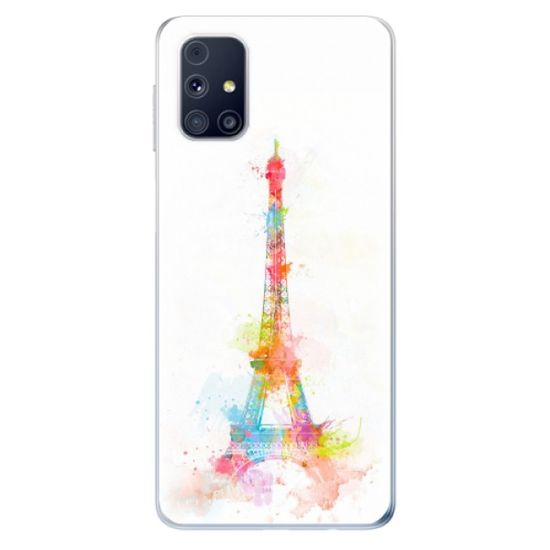 iSaprio Silikonowe etui - Eiffel Tower na Samsung Galaxy M31s