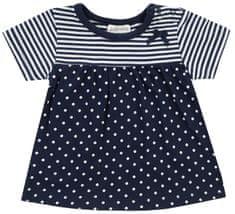 Jacky dívčí šaty s krátkým rukávem Dresses 1211570 68 tmavě modrá